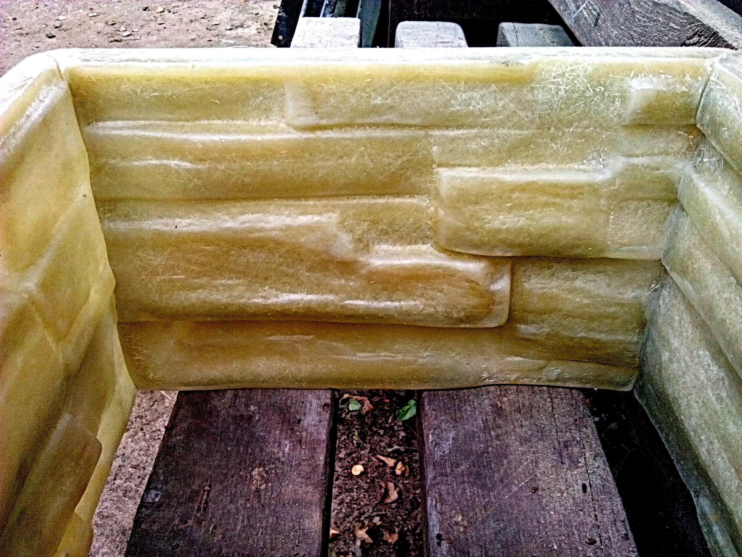 форма блока столба скала