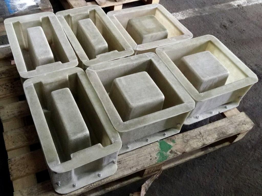 отгрузка форм мытый бетон