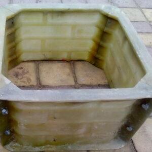 Форма кирпичики 4 ряда столбовой