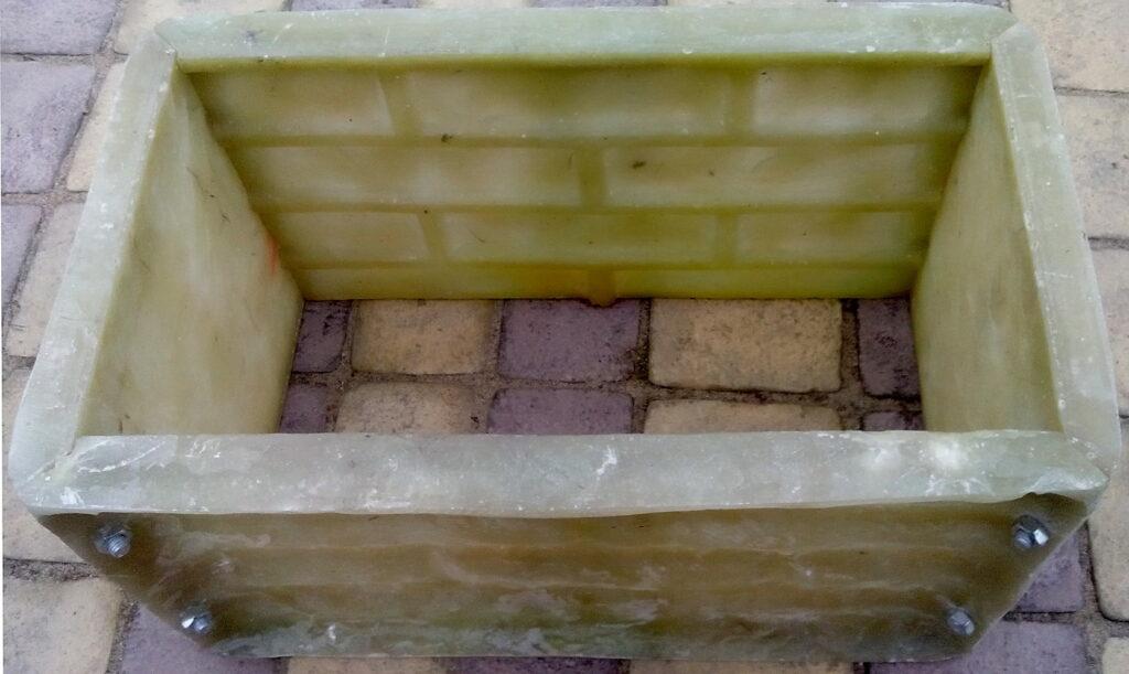 форма блока Узкий кирпичик рядовая