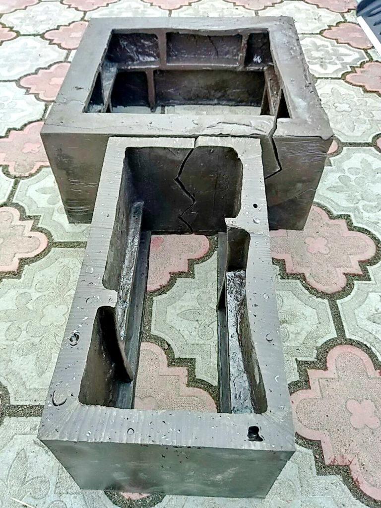 формы для бетонных блоков